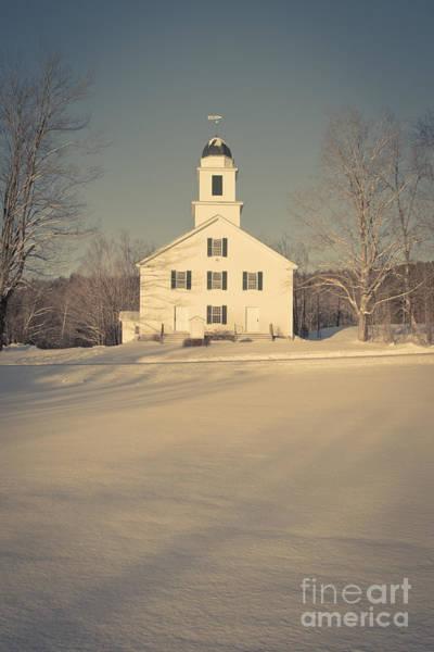Hanover Center Church Etna New Hampshire Art Print