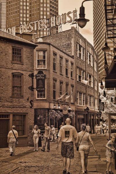 Photograph - Hanover St. by Joann Vitali