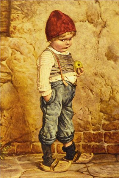 Wooden Shoe Digital Art - Hansel Brothers Grimm by Wilhelm Kaulbach