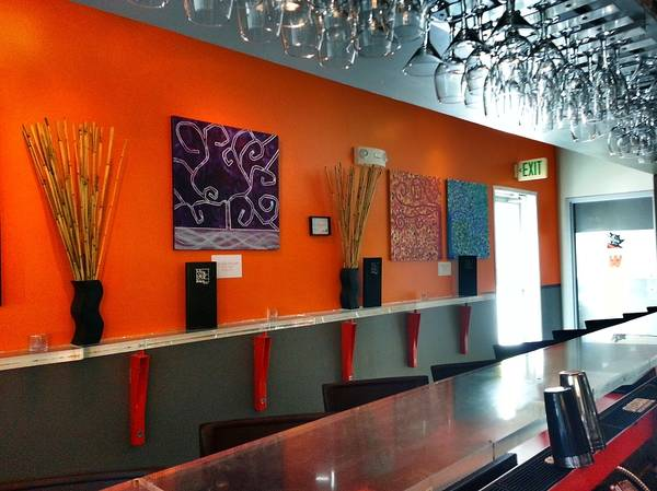 Painting - Hapa Sushi Cherry Creek 3 by Angelina Tamez
