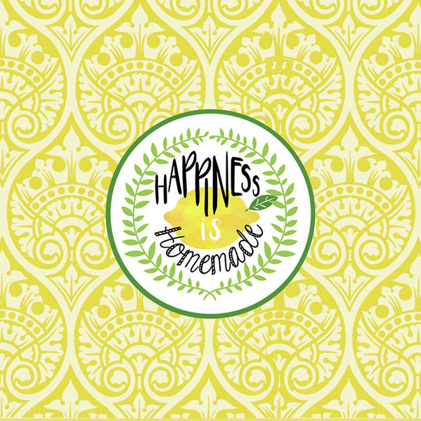 Lemonade Wall Art - Painting - Happiness Homemade by Tammy Apple