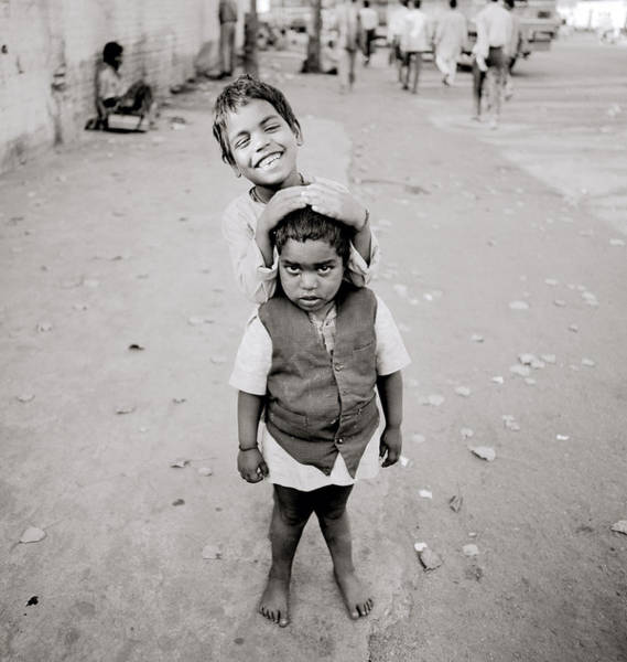 Photograph - Happiness In India by Shaun Higson