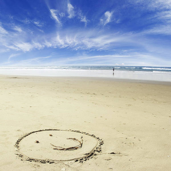 Smiley Face Wall Art - Photograph - Happiness by Les Cunliffe