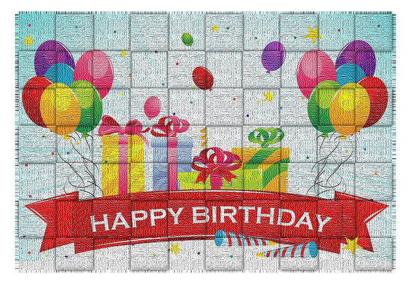 Digital Art - Happy Birthday by Photographic Art by Russel Ray Photos
