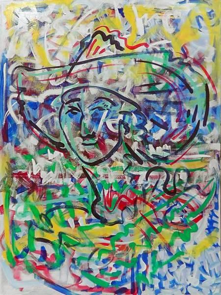 Ranchera Wall Art - Painting - Happy Farmer by Jimmy Longoria