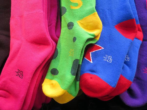 Photograph - Wear Loud Socks by Rick Locke
