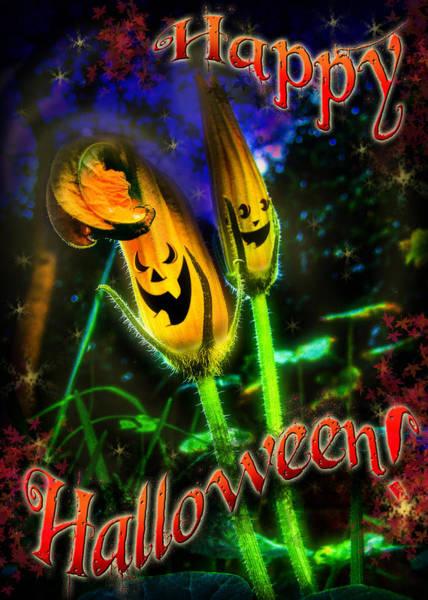 Digital Art - Happy Halloween by Alessandro Della Pietra