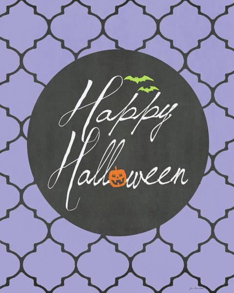 Halloween Painting - Happy Halloween by Jo Moulton