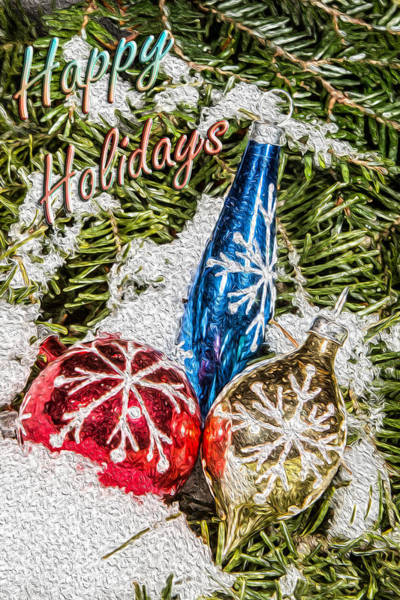 Photograph - Happy Holidays by Dave Hahn