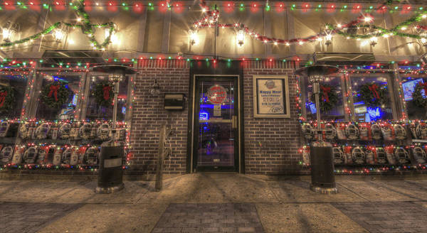 Photograph - Happy Holidays From Bourbon Street Saloon by Shelley Neff