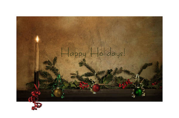 Photograph - Happy Holidays by Robin-Lee Vieira