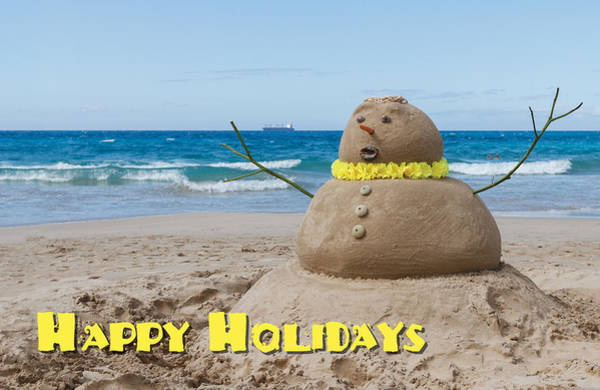 Photograph - Happy Holidays Sandman by Denise Bird