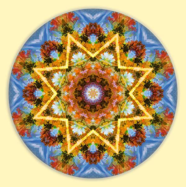 Digital Art - Happy Mandala by Beth Sawickie