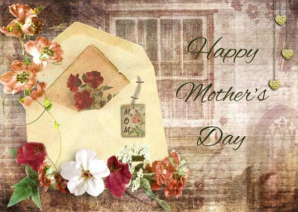 Love Wall Art - Mixed Media - Happy Mother's Day by Paula Ayers