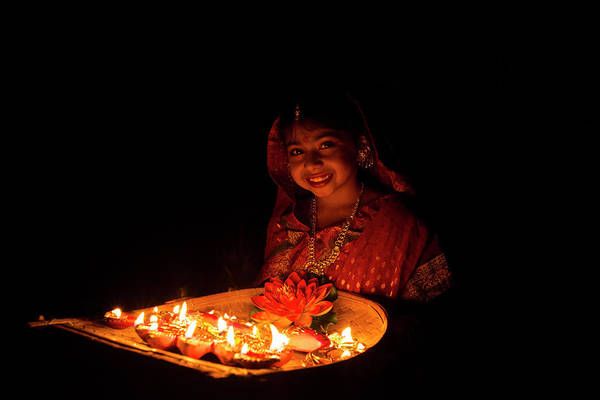 India Photograph - Happy On Diwali by India Photography