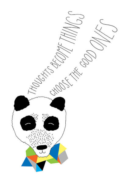 Wall Art - Photograph - Happy Panda Variant 1 by MGL Meiklejohn Graphics Licensing
