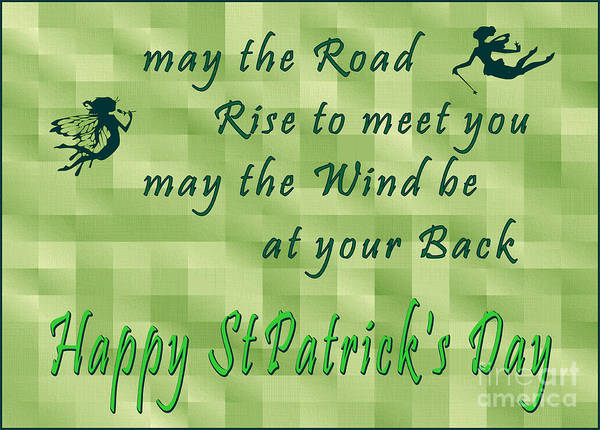 Digital Art - Happy St Pat's by Marianne NANA Betts
