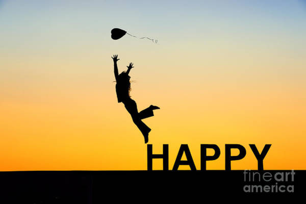 Joyous Photograph - Happy by Tim Gainey