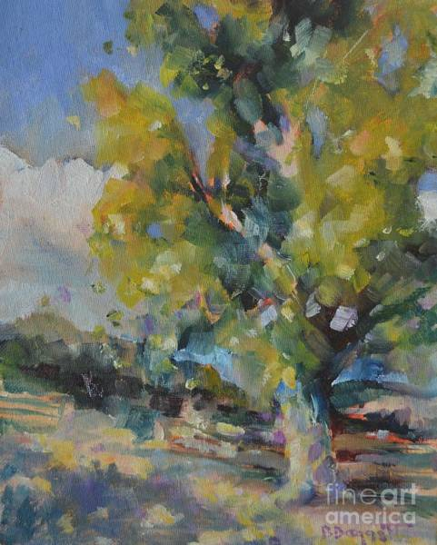 Sycamore Painting - Happy Valley by Barbara Daggett