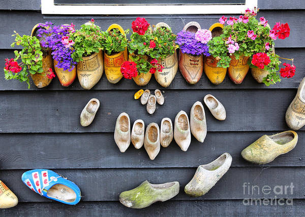 Photograph - Happy Wooden Shoes by Carol Groenen