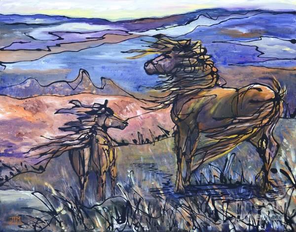 Painting - Harbinger by Jonelle T McCoy