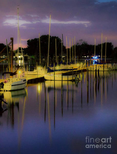 Photograph - Harbor At Night by Michael Arend