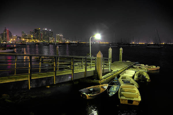 Dinghies Photograph - Harbor Dinghies by Peter Tellone