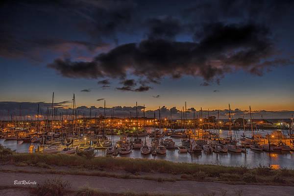 Wall Art - Photograph - Harbor Lights by Bill Roberts