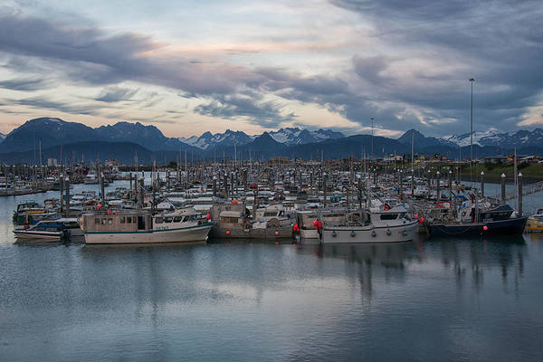 Photograph - Harbor Nights by Darlene Bushue