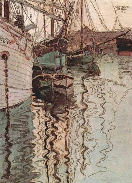 Painting - Harbor Of Trieste by Celestial Images
