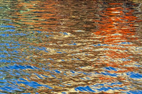 Ensenada Photograph - Harbor Reflections by Claude LeTien