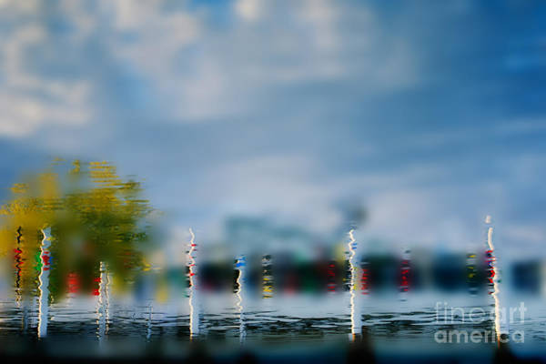 Photograph - Harbor Reflections by Michael Arend