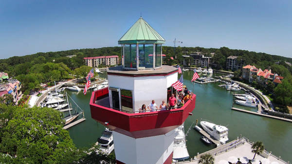 Photograph - Harbor Town Lighthouse In Hilton Head by Duane McCullough