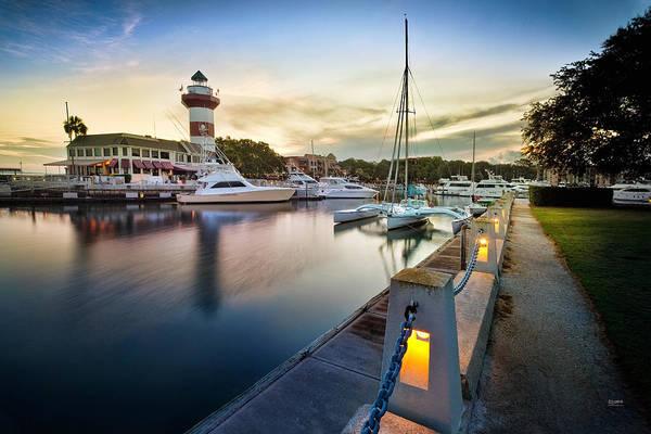 Photograph - Harbor Town by Steven Llorca