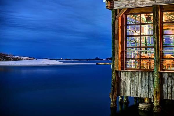 Destin Photograph - Harborside Dinning In Destin by JC Findley