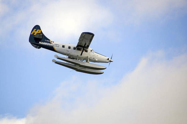 Photograph - Harbour Air Seaplane by Ross G Strachan