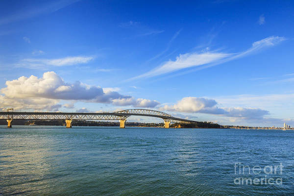 Wall Art - Photograph - Harbour Bridge Auckland New Zealand by Colin and Linda McKie