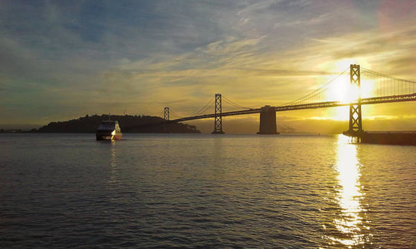 Photograph - Harbour Crossing At Dawn by Jenny Setchell