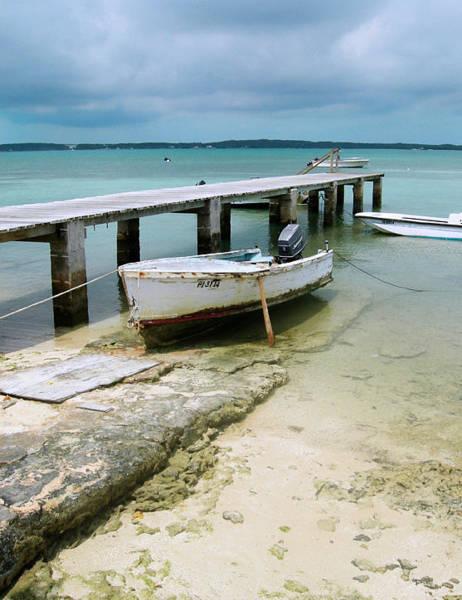 Wall Art - Photograph - Harbour Island Jetty by Sarah-jane Laubscher