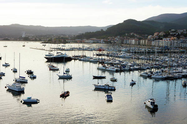 Galicia Photograph - Harbour Of Baiona by Oliver Strewe