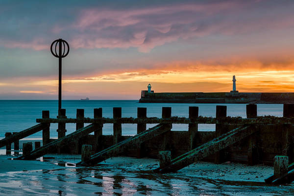 Wall Art - Photograph - Harbour Sunrise by Dave Bowman