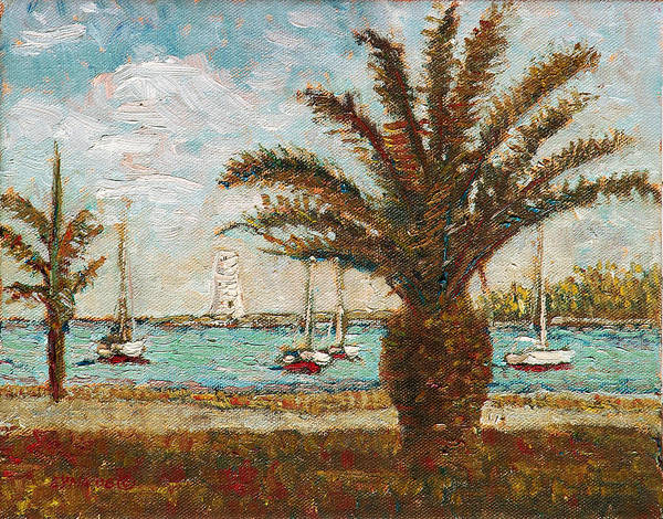 Painting - Harbour View - Nassau by Ritchie Eyma