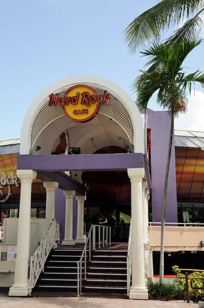 Photograph - Hard Rock Cafe Miami by Bradford Martin