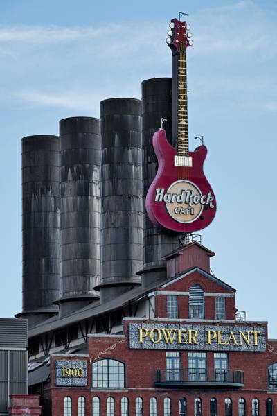 Photograph - Hard Rock Cafe  by Susan Candelario