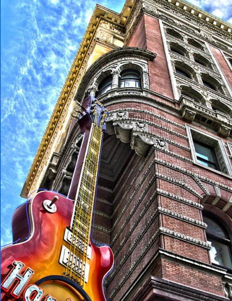 Wall Art - Photograph - Hard Rock Phila by Frank Savarese