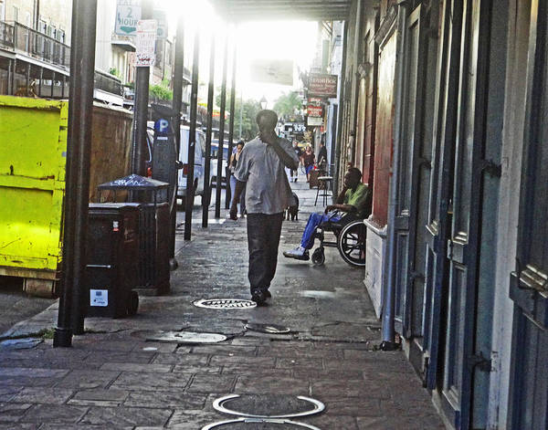 Photograph - Hard Times In New Orleans by Louis Maistros