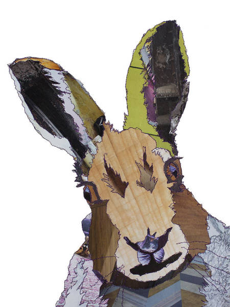 Stitch Painting - Hare by MGL Meiklejohn Graphics Licensing