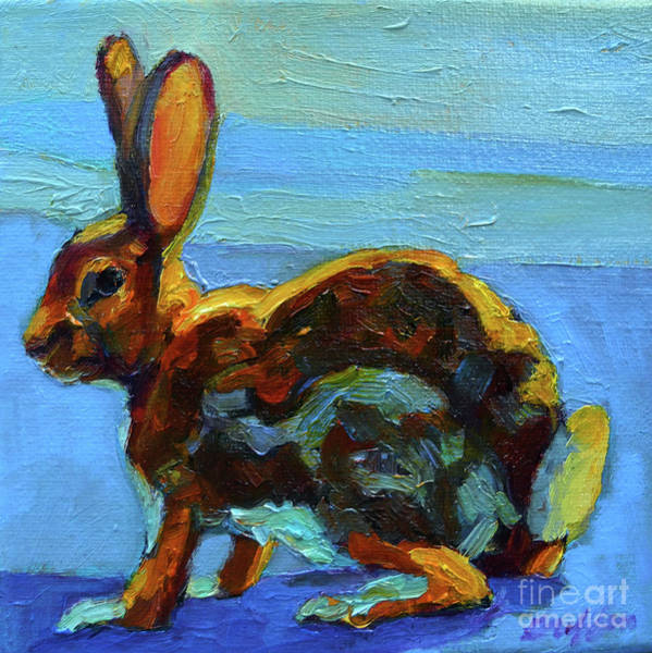 Painting - Hare by Patricia A Griffin