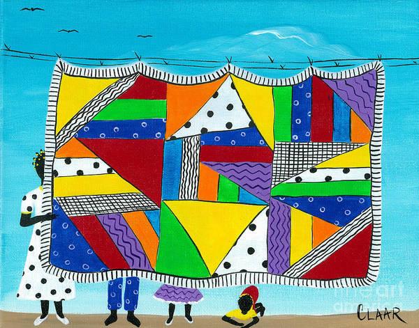 Gullah People Wall Art - Painting - Harlem Hand Me Downs by Samantha Claar