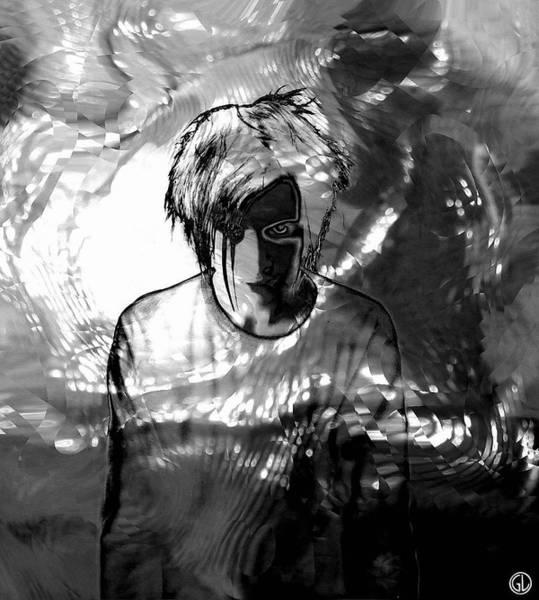 Light And Shadow Digital Art - Harlequin by Gun Legler
